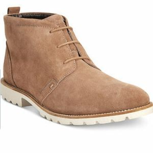 Rockport Charson Ankle Boots in Vicuna/Cream